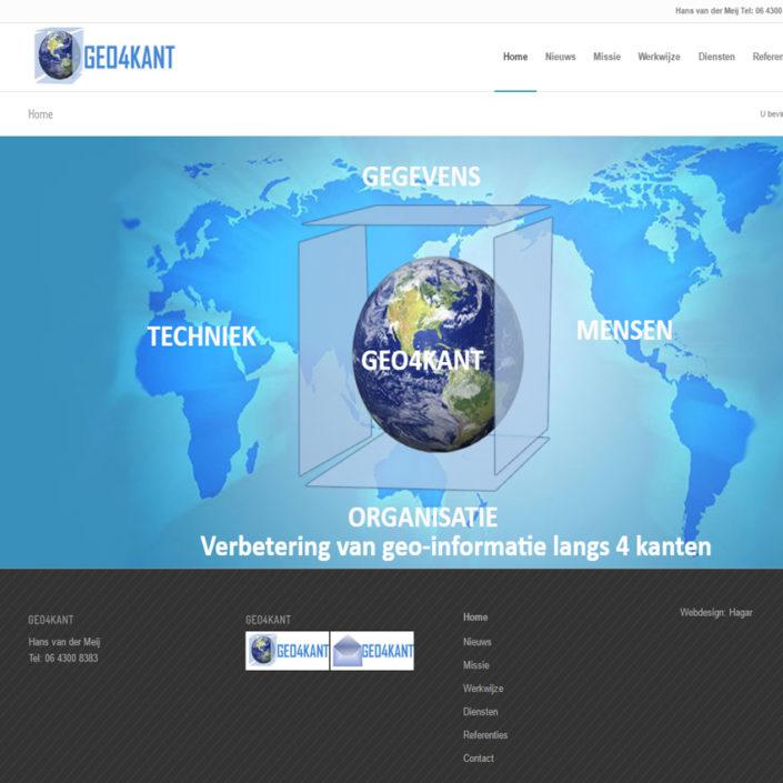 GEGEVENS TECHNIEK MENSEN ORGANISATIE GEO4KANT Verbetering van geo-informatie