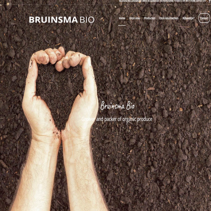 Bruinsma bio Grower and packer of organic produce
